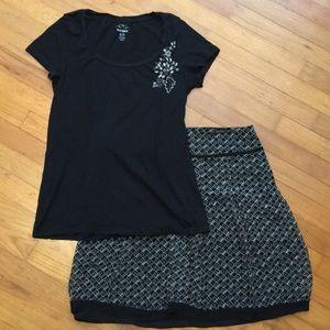 🌺 Old Navy top/skirt set